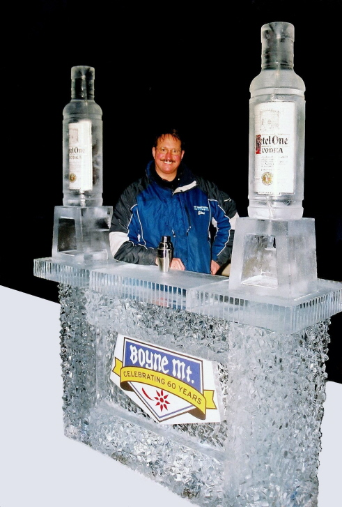 boyne mountain resort ice bar, michigan ice bar