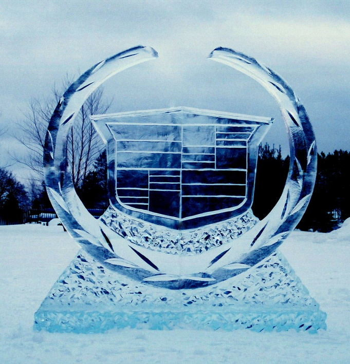 brand promotion ice sculpture, brand promotion ice sculptures, ice sculptures michigan