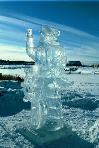 Great Lakes Captain Ice Sculpture