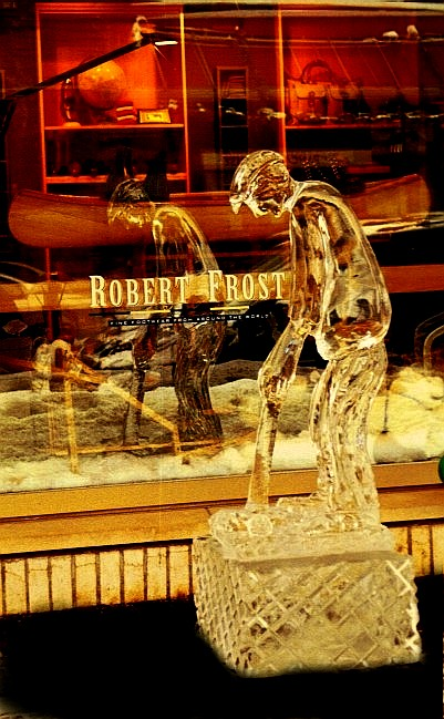 ice sculpture, ice sculptures, golfer ice carving