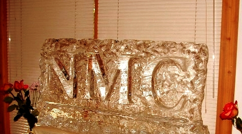 Letter Relief Ice Sculpture