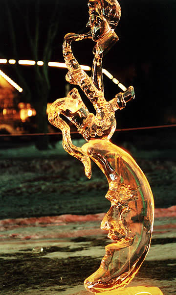 After Hours Ice Sculpture, Steven Berkshire