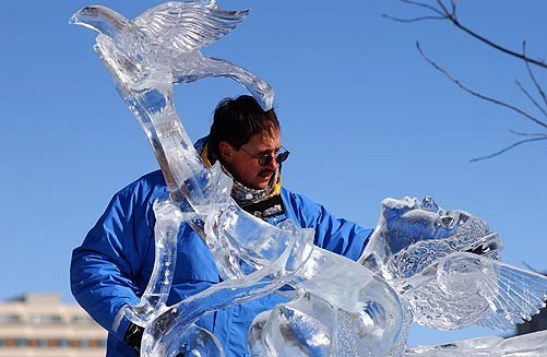 International Ice Sculpture Masters Invitational Ottawa Canada, Steven Berkshire